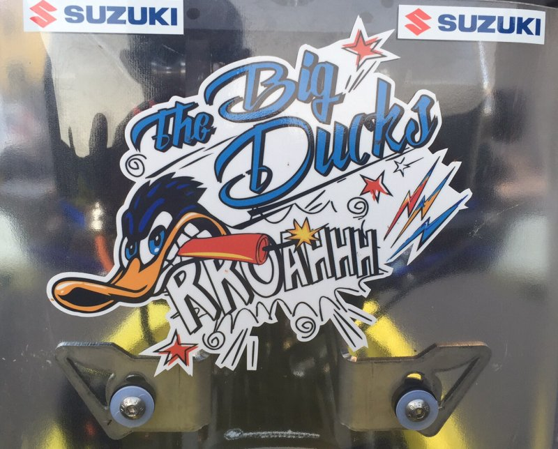 www.hessler-motorsport.de - The BIG Ducks Sticker BIG